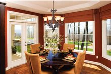 Architectural House Design - Country Interior - Dining Room Plan #929-701
