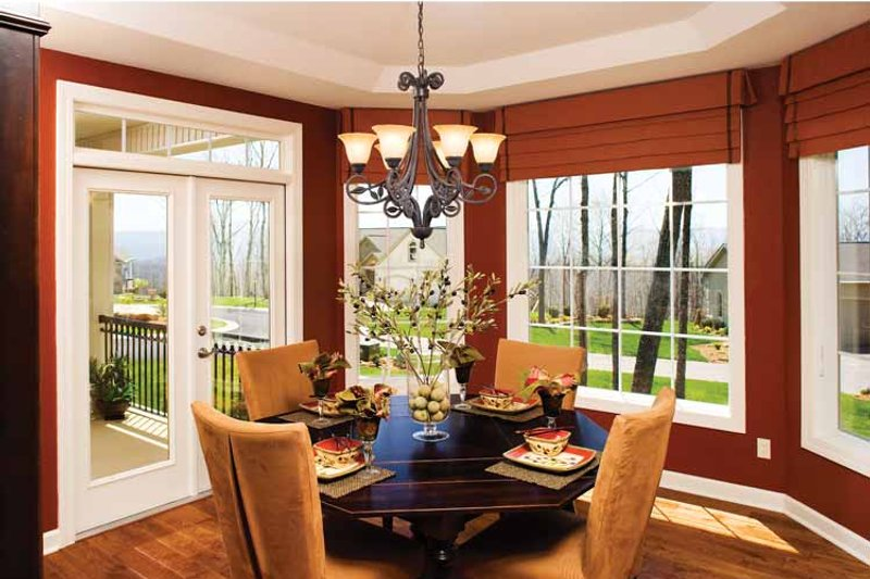 Country Interior - Dining Room Plan #929-701 - Houseplans.com