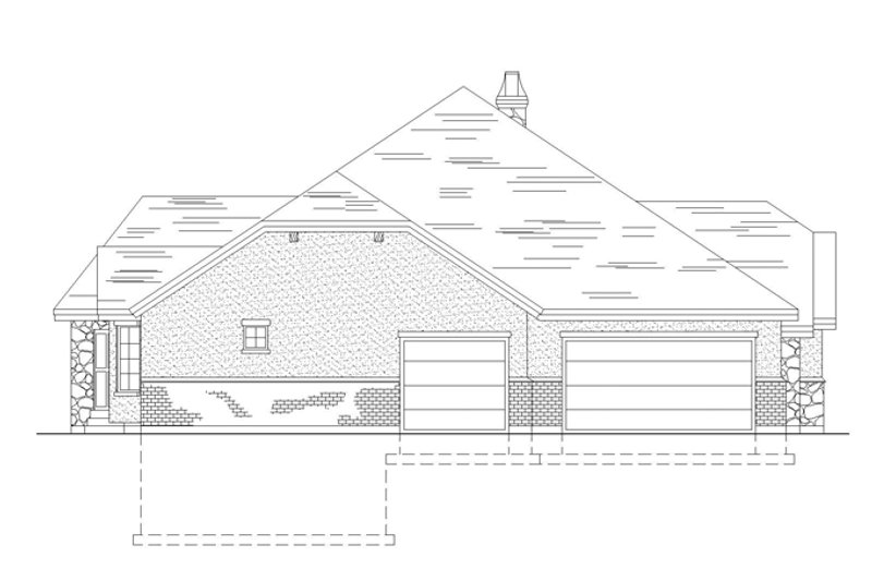 Country Exterior - Other Elevation Plan #945-32 - Houseplans.com