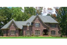 Architectural House Design - Country Exterior - Front Elevation Plan #952-188