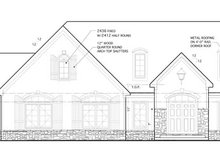 Country Exterior - Front Elevation Plan #1053-57