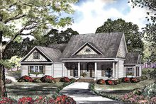 Home Plan - Classical Exterior - Front Elevation Plan #17-3181