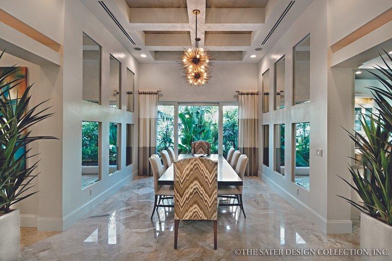 Mediterranean Interior - Dining Room Plan #930-444 - Houseplans.com