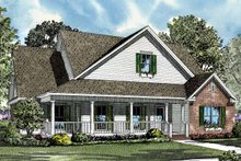 Architectural House Design - Country Exterior - Front Elevation Plan #17-2999