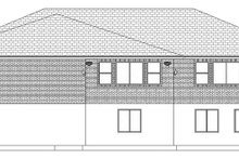 Ranch Exterior - Rear Elevation Plan #1060-27