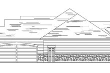 Architectural House Design - Craftsman Exterior - Other Elevation Plan #945-63