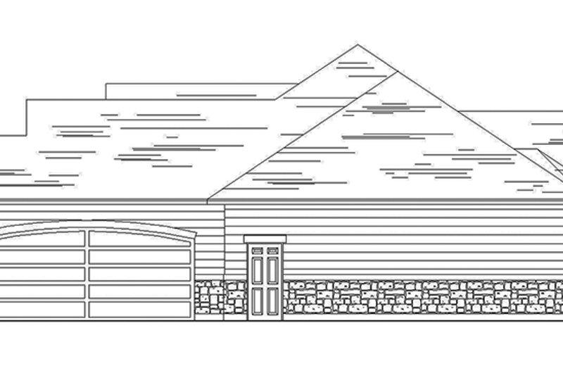 Craftsman Exterior - Other Elevation Plan #945-63 - Houseplans.com