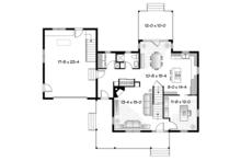 Country Floor Plan - Main Floor Plan Plan #23-2561