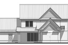 Farmhouse Exterior - Rear Elevation Plan #1058-73
