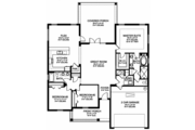 Traditional Style House Plan - 3 Beds 2 Baths 1959 Sq/Ft Plan #1058-118 Floor Plan - Other Floor