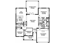Traditional Floor Plan - Other Floor Plan Plan #1058-118