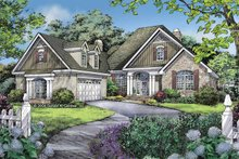 Craftsman Exterior - Front Elevation Plan #929-802