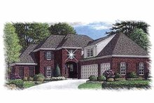 Architectural House Design - Traditional Exterior - Front Elevation Plan #15-388