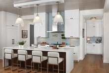 Contemporary Interior - Kitchen Plan #928-291