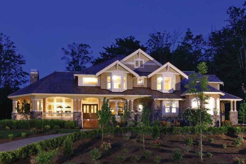 Craftsman Exterior - Front Elevation Plan #132-241 - Houseplans.com
