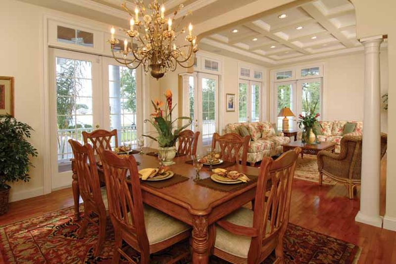 Country Interior - Dining Room Plan #930-140 - Houseplans.com