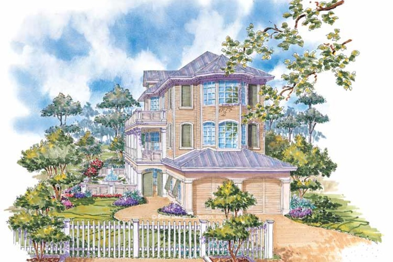 Country Exterior - Front Elevation Plan #930-68 - Houseplans.com