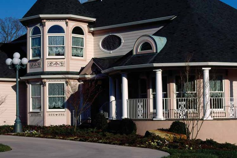 Home Plan - Victorian Exterior - Front Elevation Plan #314-206