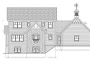 Country Style House Plan - 3 Beds 2.5 Baths 1929 Sq/Ft Plan #928-96 Exterior - Rear Elevation
