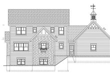 Country Exterior - Rear Elevation Plan #928-96