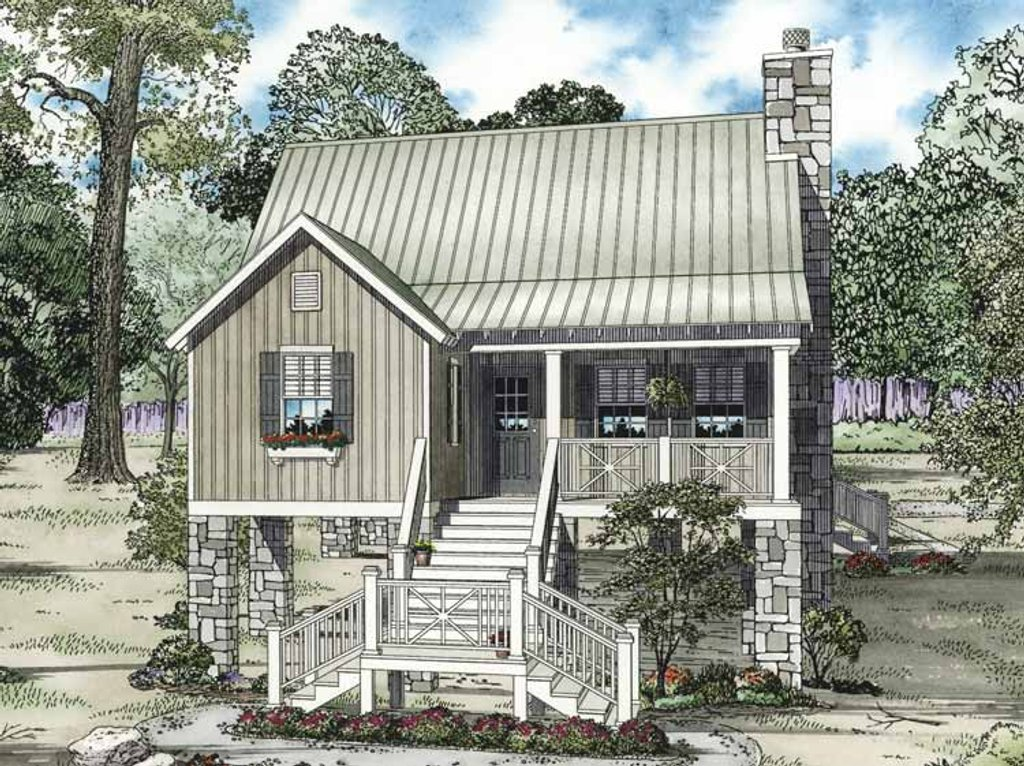 Mediterranean style house plan 2 beds 2 baths 1178 sq ft for Home plan com