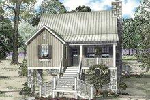 House Plan Design - Mediterranean Exterior - Front Elevation Plan #17-3301
