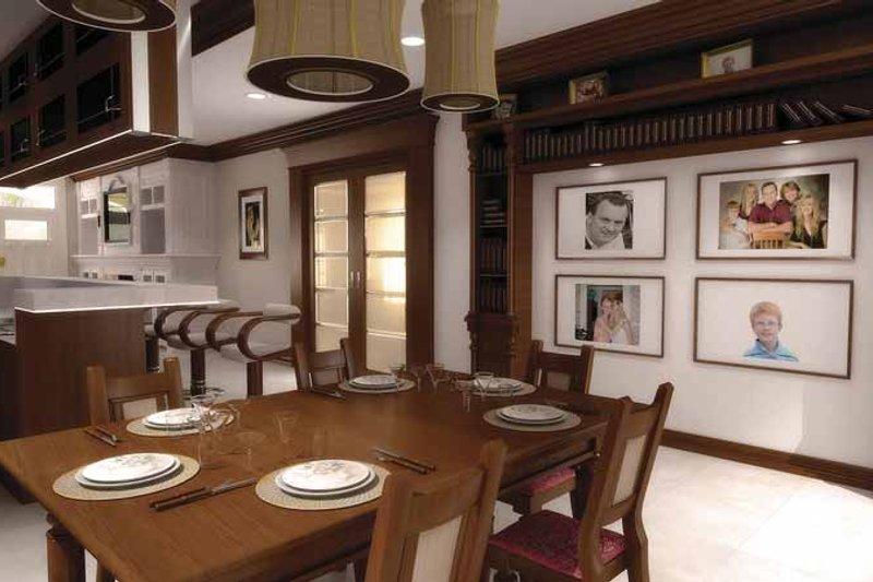 Contemporary Interior - Dining Room Plan #11-272 - Houseplans.com