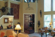 House Plan Design - Mediterranean Interior - Family Room Plan #417-748