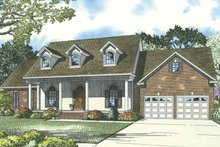 Home Plan - Country Exterior - Front Elevation Plan #17-3277
