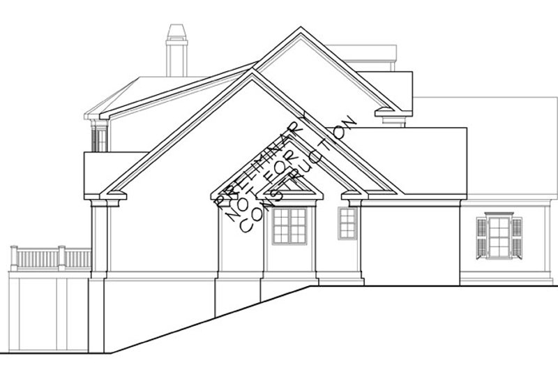 Country Exterior - Other Elevation Plan #927-414 - Houseplans.com