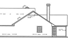 House Plan Design - Country Exterior - Other Elevation Plan #42-460