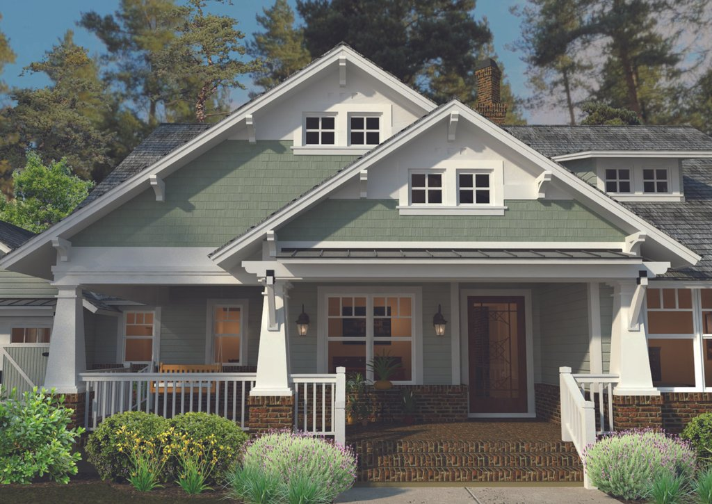 Craftsman Style House Plan 3 Beds 2 Baths 1879 SqFt