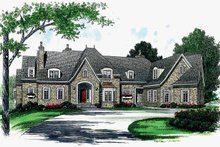 House Plan Design - Country Exterior - Front Elevation Plan #453-367
