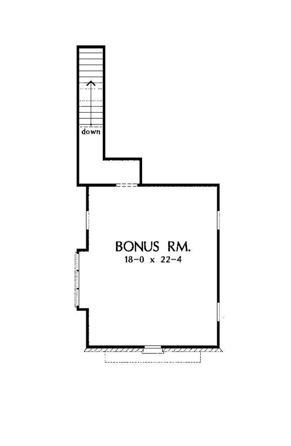 European Floor Plan - Other Floor Plan Plan #929-956