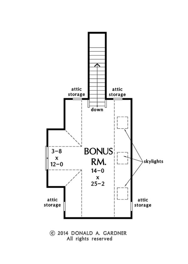 Craftsman Floor Plan - Other Floor Plan Plan #929-982