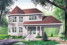 Dream House Plan - Victorian Exterior - Front Elevation Plan #23-2113