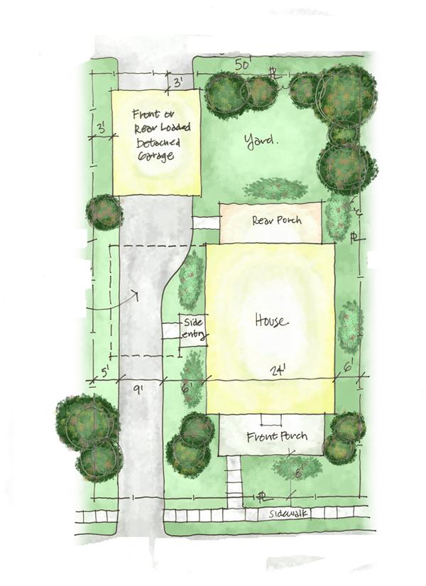 Home Plan - Colonial Floor Plan - Other Floor Plan #1053-38