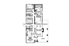 Craftsman Floor Plan - Main Floor Plan Plan #137-359