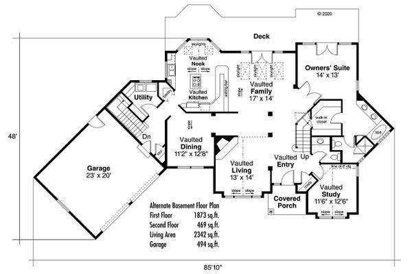 Ranch Floor Plan - Other Floor Plan Plan #124-129