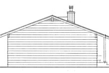 Ranch Exterior - Other Elevation Plan #47-1033