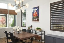 Contemporary Interior - Dining Room Plan #928-296