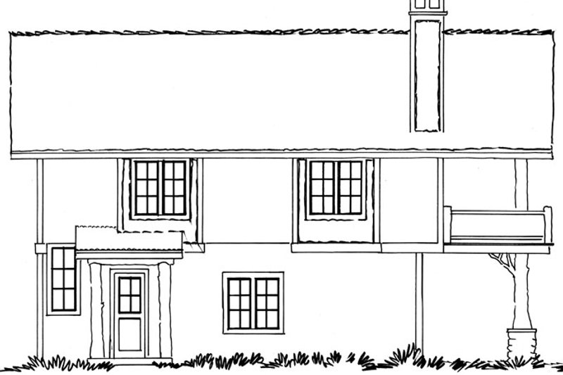 Country Exterior - Other Elevation Plan #942-20 - Houseplans.com