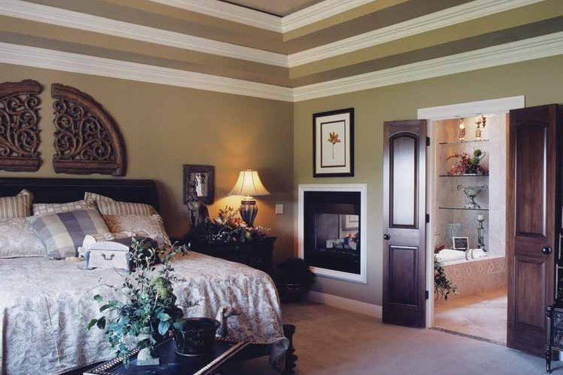 Country Interior - Master Bedroom Plan #46-747 - Houseplans.com