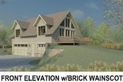 Traditional Style House Plan - 1 Beds 1.5 Baths 1220 Sq/Ft Plan #81-13913