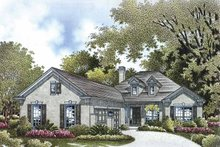 Dream House Plan - Colonial Exterior - Front Elevation Plan #999-169