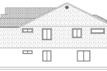 Architectural House Design - Ranch Exterior - Other Elevation Plan #1060-12