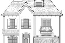 House Plan Design - Mediterranean Exterior - Front Elevation Plan #1021-14