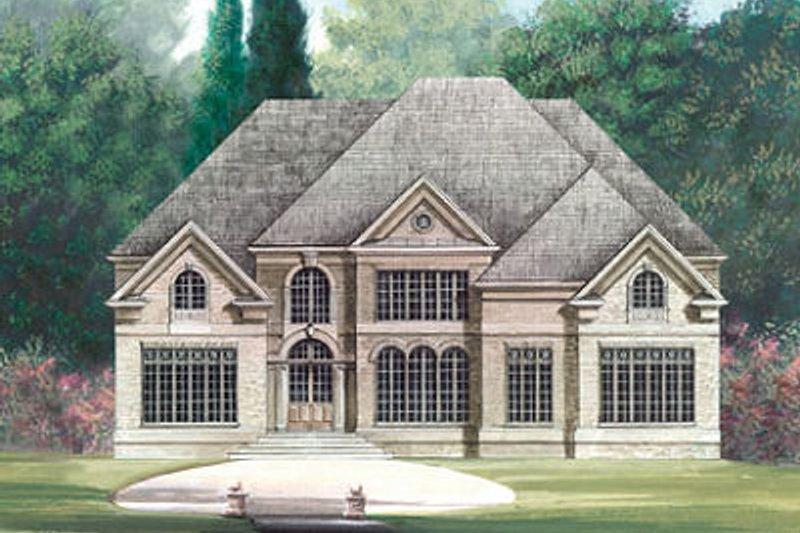 Dream House Plan - European Exterior - Front Elevation Plan #119-263