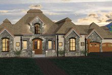 Home Plan - Country Exterior - Front Elevation Plan #937-6
