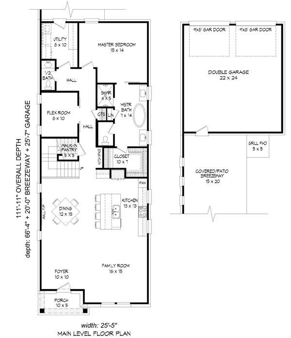 Dream House Plan - Traditional Floor Plan - Main Floor Plan #932-269